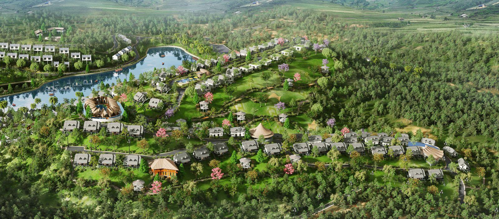 Phối cảnh dự án biệt thự Panorama Hill